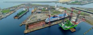 Heavy Lift Jack-up Apollo Completes Refit At Damen Shiprepair Dunkerque
