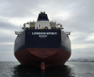 Spotted: London Spirit joins Teekay's fleet