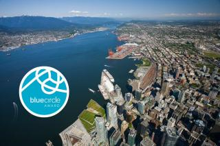 Vancouver Fraser Port Authority recognizes marine carriers for voluntary efforts to reduce air emissions with Blue Circle Award
