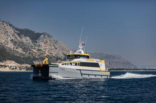 High Speed Transfers places order for fourth Damen Fast Crew Supplier 2710
