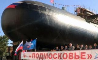 Russian BS-64 Podmoskovye nuclear submarine launched after modernization