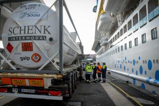 Galp carries out first LNG ship refuelling in an Atlantic island