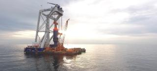 Van Oord completes successful execution of offshore test of innovative new installation technology