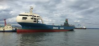 Innovative Bow Design for Japanese Container Ship