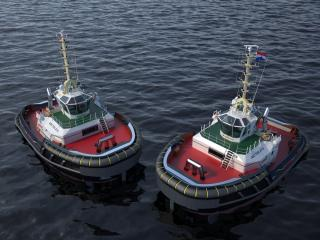 Iskes Towage & Salvage signs contract for two Damen ASD Tugs 2312