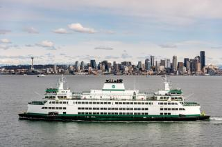 Third Olympic Class ferry joins WSF fleet