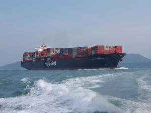 Container vessel Figure in Disaster Relief Plan