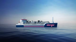 Keel-laying ceremony held at Damen Yichang Shipyard for Elenger LGC 6000 LNG tanker