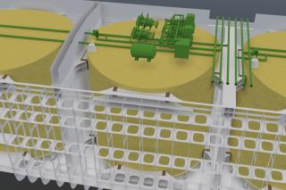 DNV GL gives general approval for VARD's new LNG tank