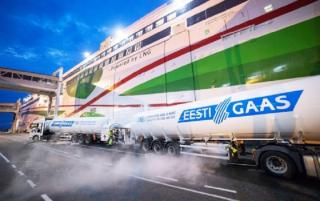 Eesti Gaas reports 1,500 instances of LNG bunkering in Tallinn Old City Harbour
