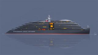 Deltamarin to design expedition mega yacht for Norwegian Yacht Voyages
