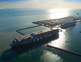CMA CGM awarded the highest rating by EcoVadis