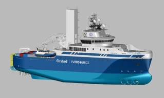 Ørsted and Eversource charter first-ever Jones Act Windfarm Service Operation Vessel