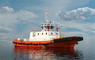Chinese harbour tug features SCHOTTEL Rudderpropellers