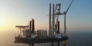 72 wind turbines for the 604 MW Kriegers Flak wind farm successfully installed