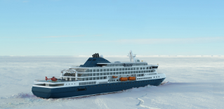 KNUD E. HANSEN introduces new design of icebreaking expedition cruise vessel