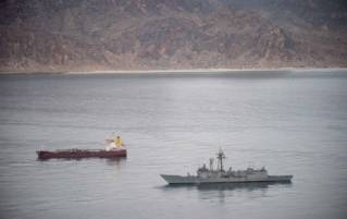 EU Navfor Somalia reacts on possible hijacking of a ship at the Horn of Africa
