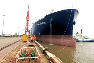 Hudong completes 3rd Yamal LNG carrier for MOL and Cosco