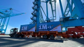 Moín Container Terminal reaches 1 million TEUs