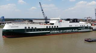 The ECO Catania Delivered To The GRIMALDI Group