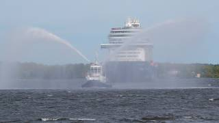 Stockholm welcomes first cruise ship of the year