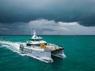 Damen Fast Crew Supplier 2710 receives an approval in principle from ABS
