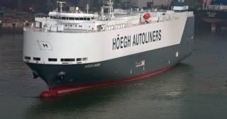 Fire aboard Höegh Xiamen in Jacksonville