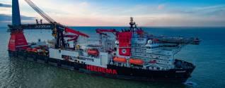 Heerema's Heavy Lift Vessel Aegir Experiences Dropfall Incident