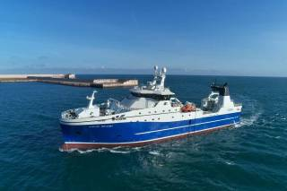 New Kongsberg-design ED Freezer Trawler is Ready to Commence Service in Arctic Fishing Grounds