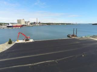 Meriaura Group's port terminal in Naantali starts operating