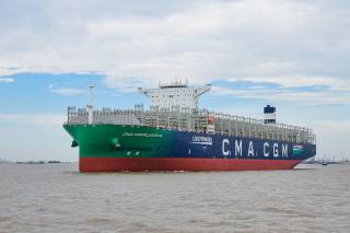CMA CGM's second LNG-powered giant nearing completion