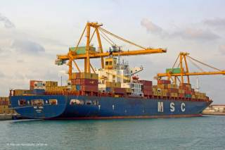 MSC's Golden Horn Service Links China, Korea & Russia's East Coast
