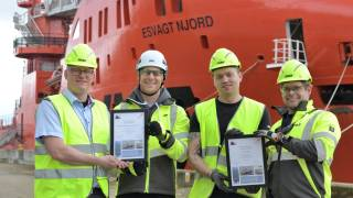 Dudgeon offshore wind farm recognises life-saving actions in rescue of seven fishermen
