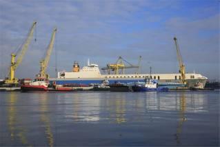 New LINKSPAN 7 arrives in Dublin Port