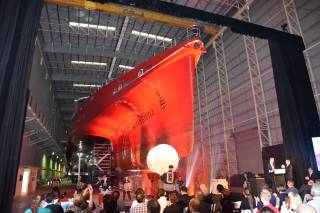 New Austal Trimaran Provides Vision Of The Future For Ferry Transportation In Japan