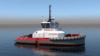 ABB to power first fully electric U.S. tugboat for maximum efficiency and zero-emission operations