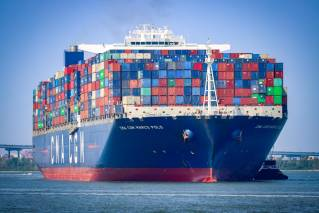South Carolina Ports welcomes record-breaking CMA CGM MARCO POLO