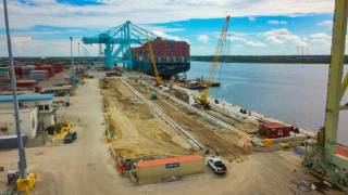 Next phase of berth reconstruction at JAXPORT's Blount Island terminal set to be complete in December 2020