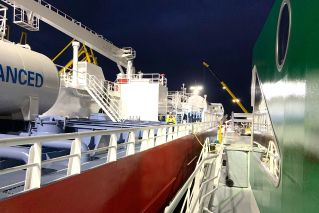 First LNG bunkering delivered concurrent cargo operations in port of Amsterdam