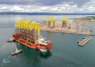 Jackets Arrive For Moray East Offshore Wind Farm