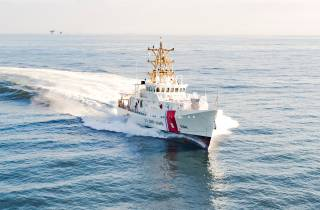 Bollinger Shipyards Delivers 44th Fast Response Cutter Strengthening Defense Capabilities In The Arabian Gulf