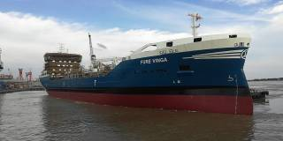 FKAB-design tanker FURE VINGA launched