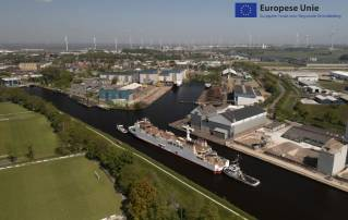 LNG Conversion project Munsterland reached final stage with finishing the interior