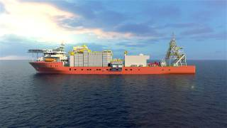 Alewijnse signs contract for electrical installation on board world's newest and largest offshore diamond recovery vessel