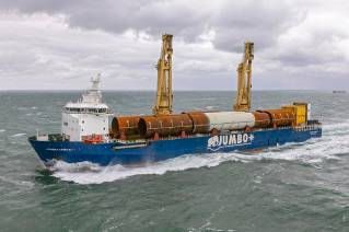 Jumbo shines as Tier I Contractor during Yunlin transport scope (Video)