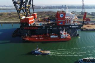 Record Breaking LNG Bunkering For Sleipnir In Rotterdam