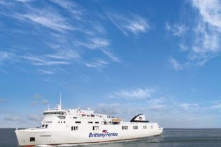 Brittany Ferries celebrates another French-flagged ship