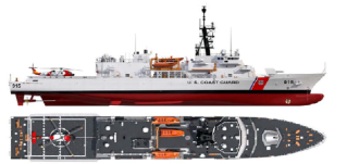 Bollinger Submits Proposal for U.S. Coast Guard Heritage-class Offshore Patrol Cutter