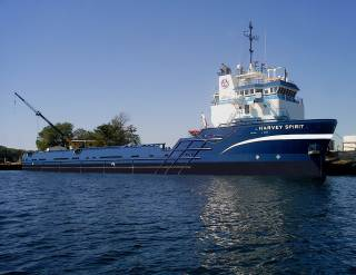 Two Harvey Gulf vessels supplied with Evac Evolution ballast water management system
