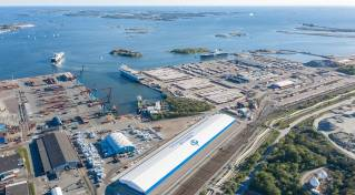 New transshipment terminal soon to become operational at Port of Gothenburg
